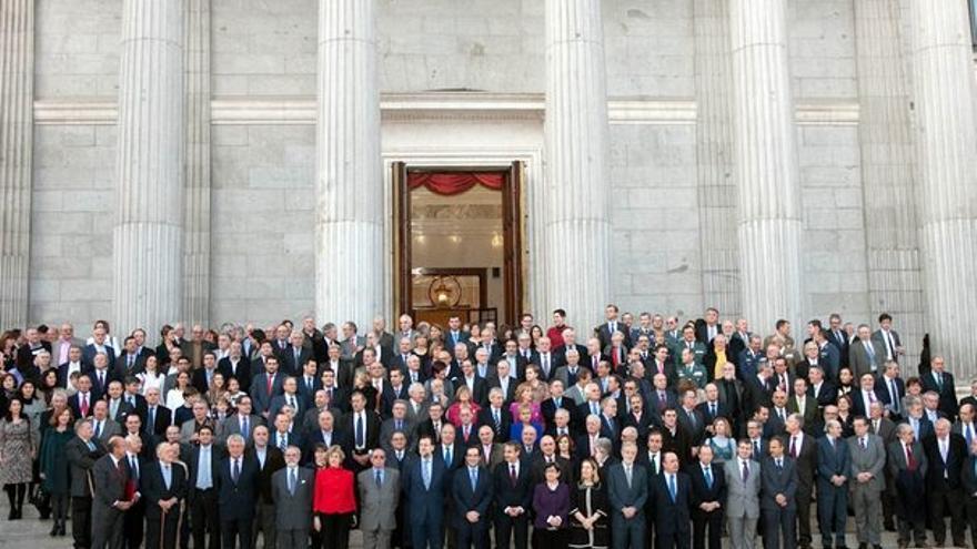 De los actos del 23-F en el Congreso #1