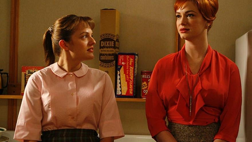 Mad Men: Peggy y Joan