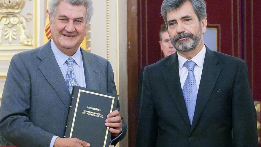 PP, PSOE e IU piden al CGPJ revisar las subvenciones a las asociaciones judiciales para evitar sobrefinanciación