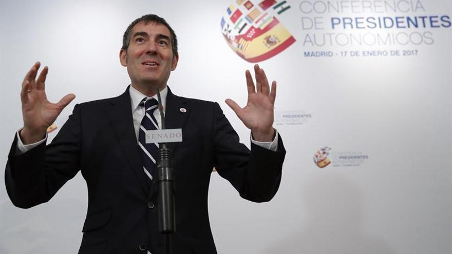 El presidente del Gobierno de Canarias, Fernando Clavijo. EFE/Juan Carlos Hidalgo