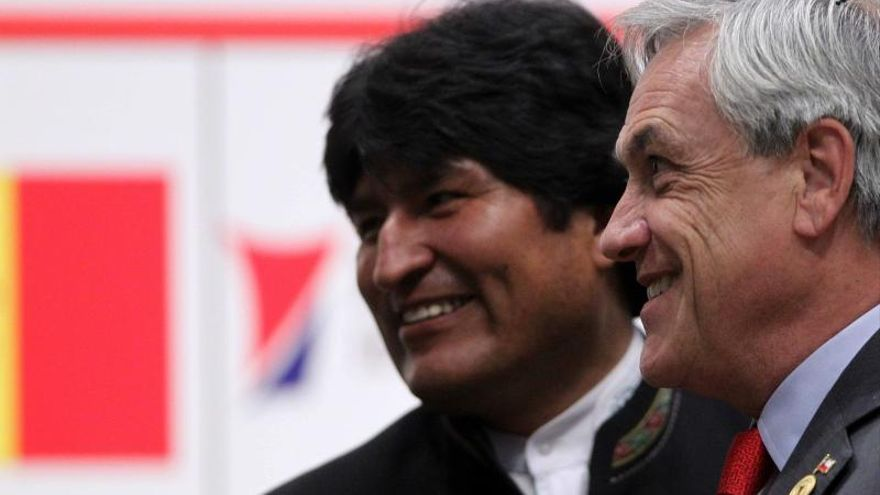 Morales quiere mejorar la relación con Chile, pero superando el problema histórico