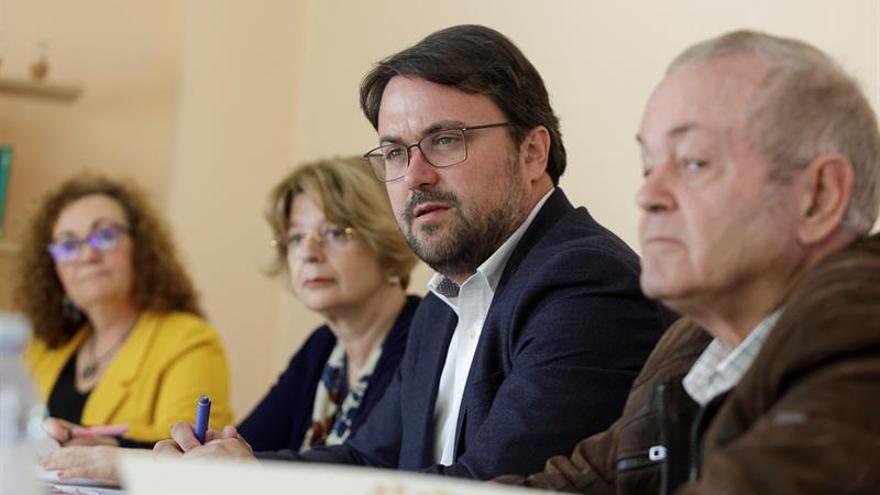 Asier Antona, en la presentación del catálogo de medidas