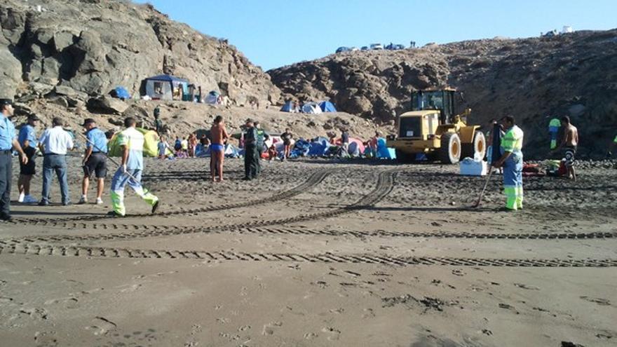 De los desalojos en las playas de Gran Canaria #6