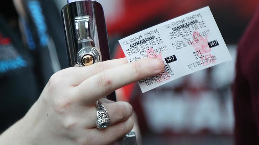 Las entradas de cine bajaron una media de 40 céntimos en un mes, según salas