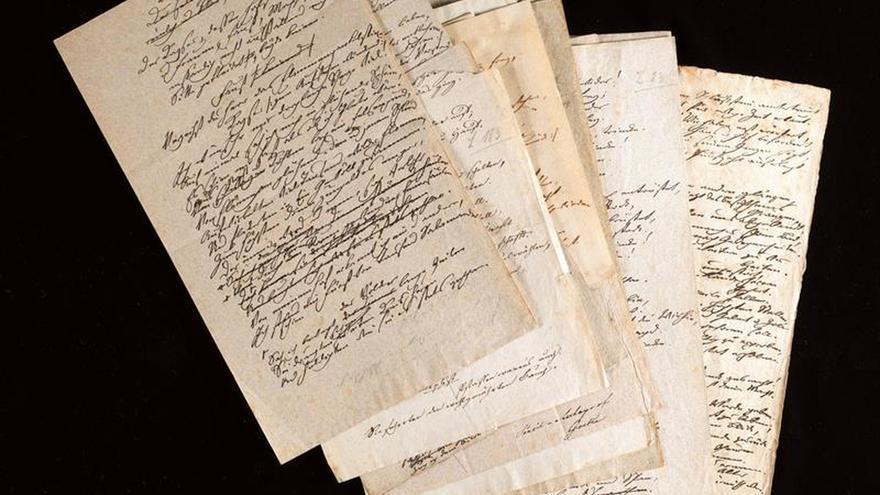 Goethe y Francia: una relación amor-odio rescatada en una exposición en Suiza