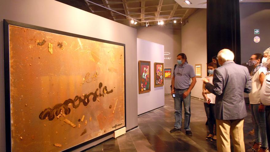 'Cer(b)antes' de Juan Méjica reinaugura la actividad expositiva del Museo del Quijote en Ciudad Real