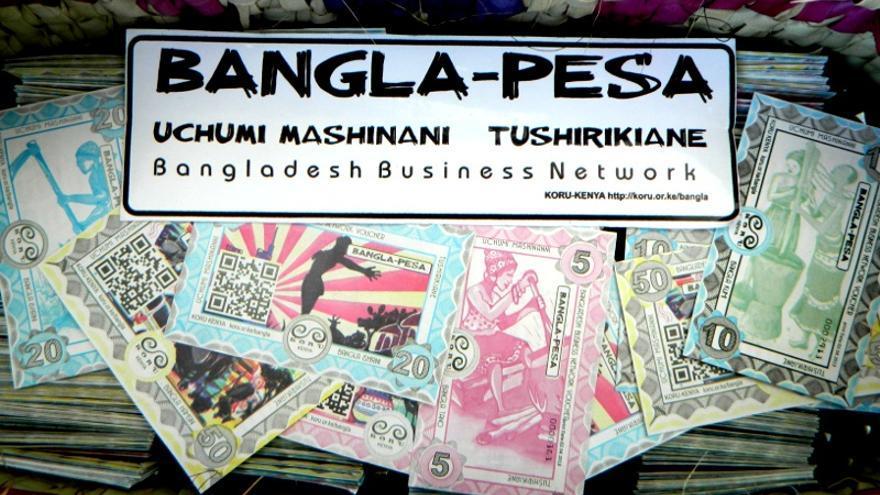 Proyecto de Moneda Social Bangla-Pesa