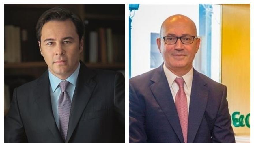 Dimas Gimeno y Jesús Nuño de la Rosa.