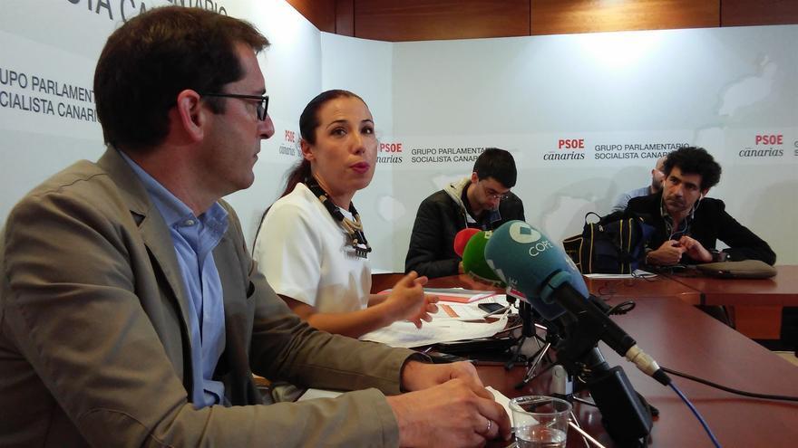 Iñaki Lavandera y Patricia Hernández. (Europa Press)
