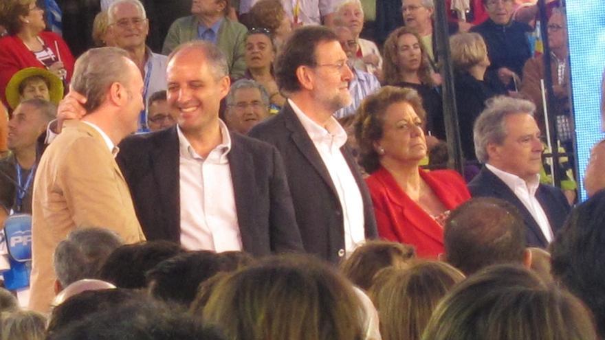 Compromís pregunta a Rajoy en el Senado a qué se refería cuando le dijo que le quería a Alfonso Rus