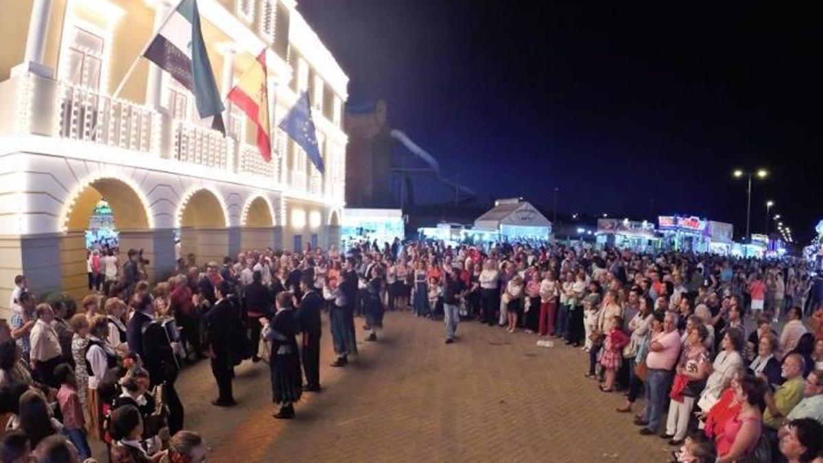 -Archivo.- Inauguración de la Feria de Badajoz