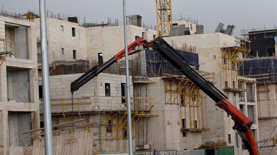 Una ONG israelí denuncia el aumento del 70 % en la construcción de asentamientos
