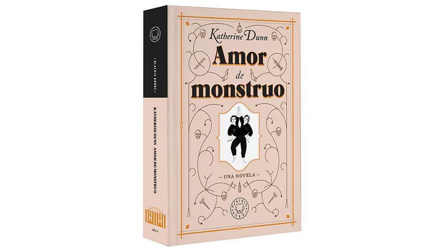 Portada de 'Amor de monstruo'