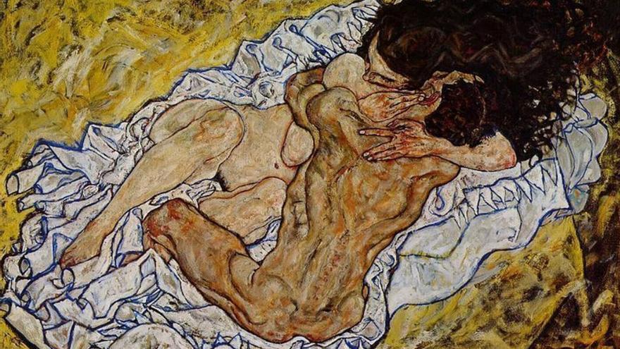 La obra de arte Embrace (lovers ll).