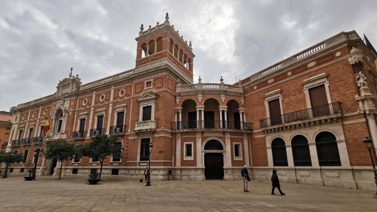 La seu de l'Arquebisbat de València.