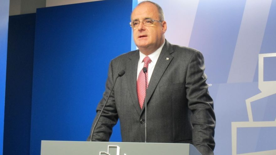 """Egibar dice que no ha habido """"ni grandes avances, ni retrocesos"""" en las negociaciones para la gobernabilidad de Euskadi"""