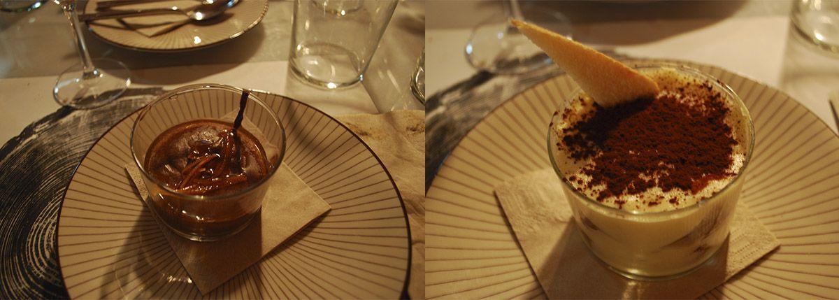 Díptico mousse de chocolate y tiramisú_Malasaña a mordiscos_Bosco de Lobos