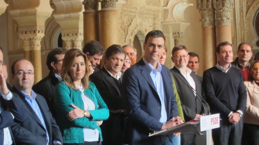 """Sánchez dice que será """"contundente"""" en la defensa de """"inocentes"""" como Chaves y Griñán, pero el PSOE no pagará su minuta"""