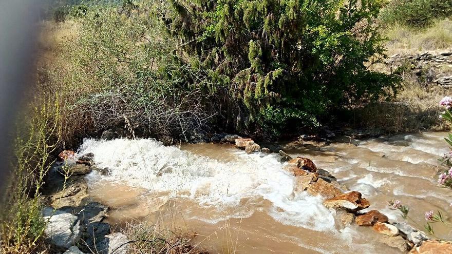 Uno de los pozos con agua 'extra' destinada a Levante ante la sequía en la cabecera del Tajo