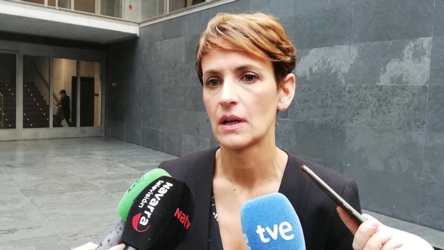 Chivite envía una carta a Navarra Suma y EH Bildu para hablar sobre los Presupuestos