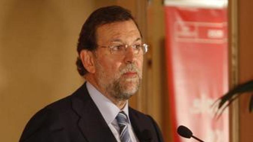 Presidente del PP, Mariano Rajoy