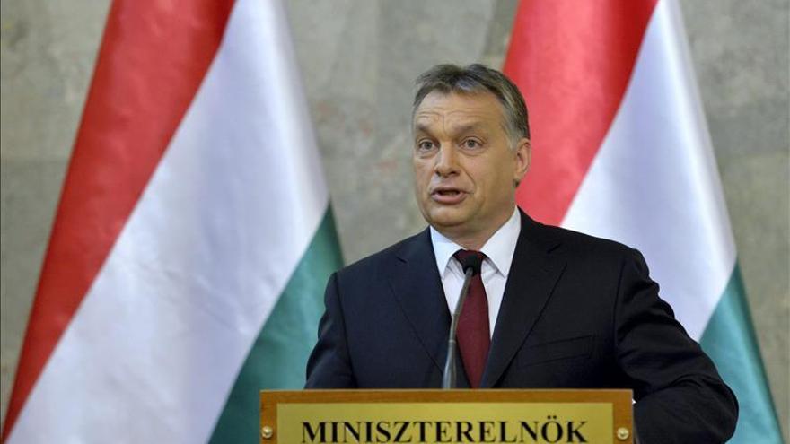 El primer ministro de Hunfría, Viktor Orbán