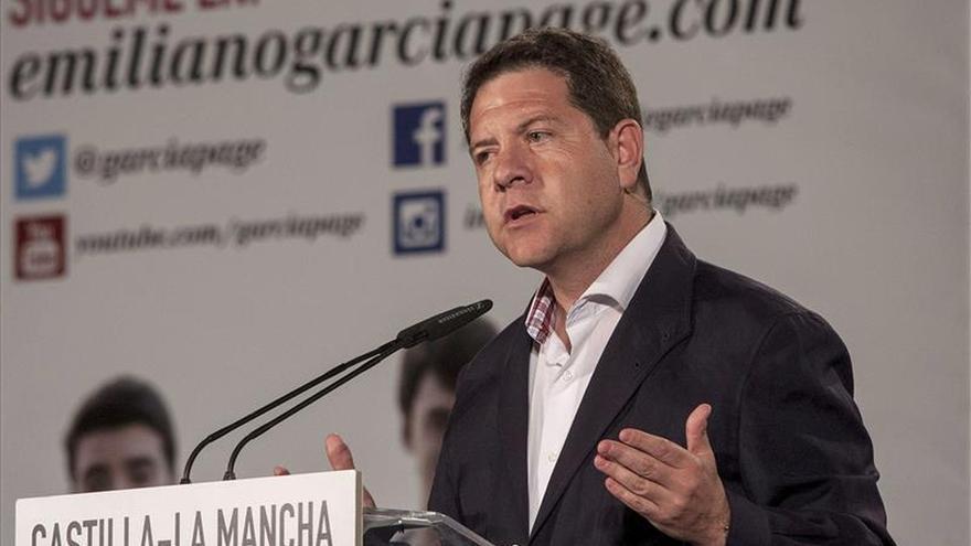 """García-Page se muestra seguro """"de que con Rivera podría hablar de muchas cosas"""""""