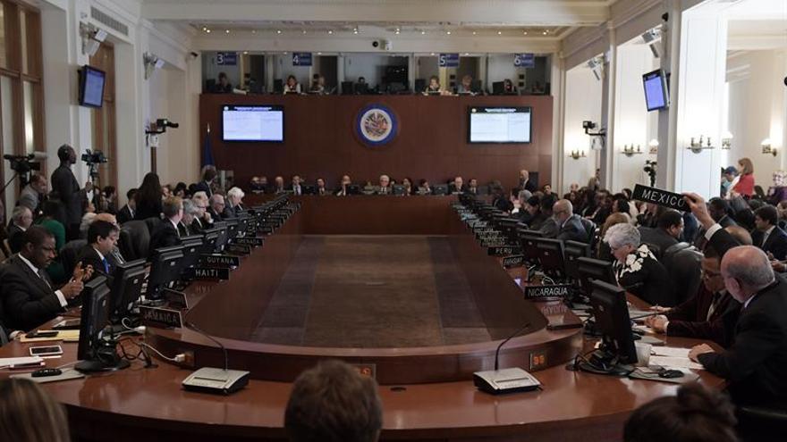 La OEA votará el lunes si en Venezuela hay una alteración del orden constitucional
