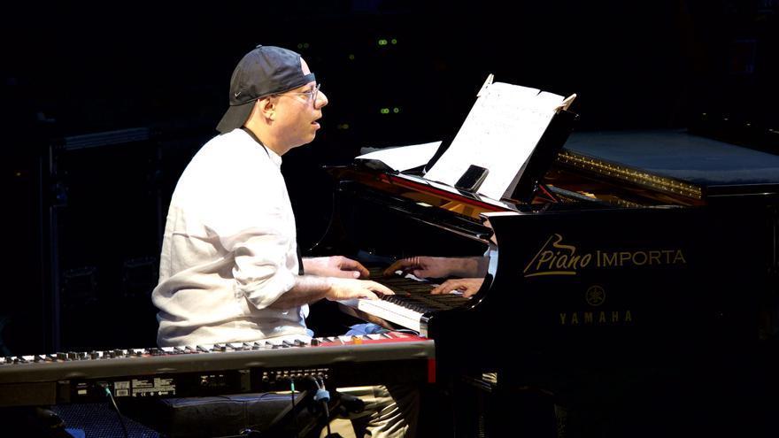 El pianista y teclista español Mariano Díaz