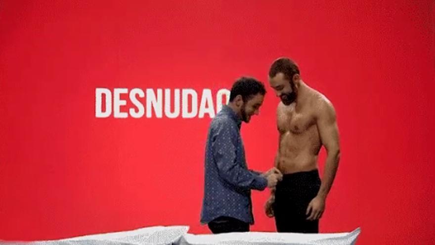 Jorge y Manuel fueron la primera pareja gay de Desnúdame