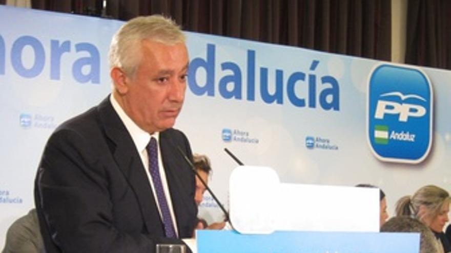 Javier Arenas, Ante La Junta Directiva Del PP De Sevilla