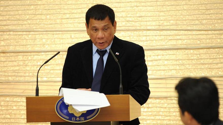 Duterte cancela la compra de 26.000 rifles de asalto a Estados Unidos