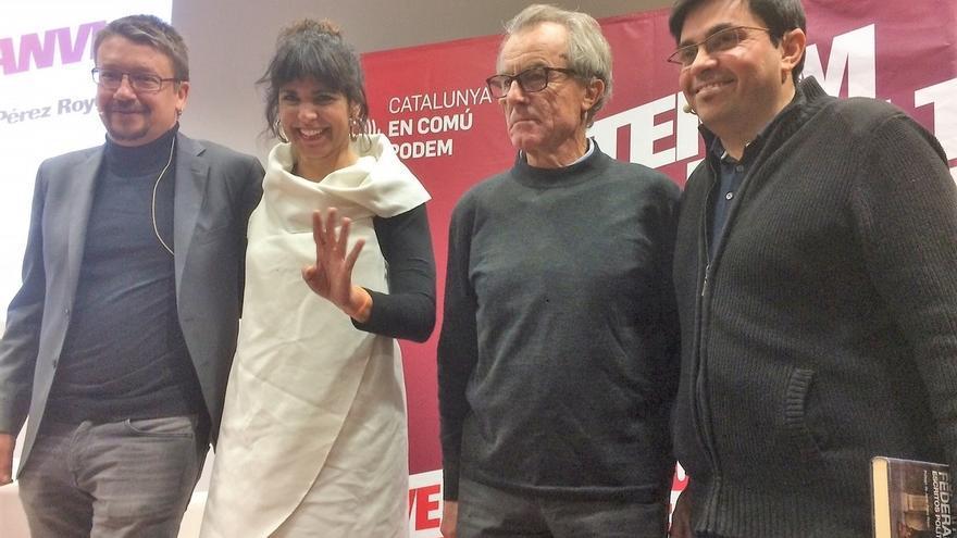 """Domènech (CatECP) dice que con Rajoy y Rivera """"no habría sido posible"""" la Constitución"""
