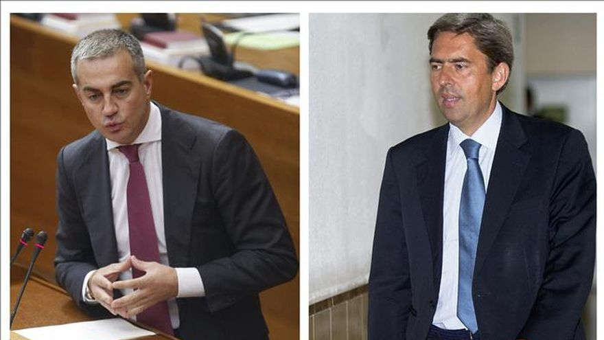 Los exdirigentes populares Ricardo Costa y Vicente Rambla