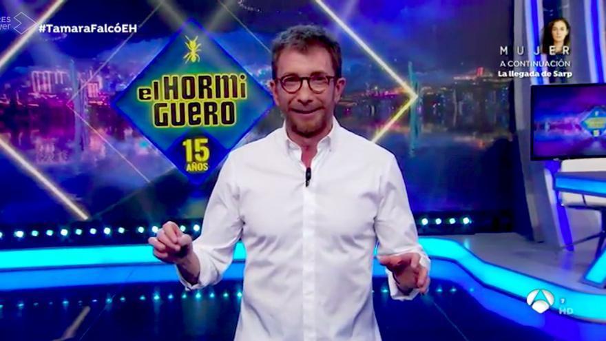 Pablo Motos, en la primera entrega de 'El Hormiguero' temporada 15