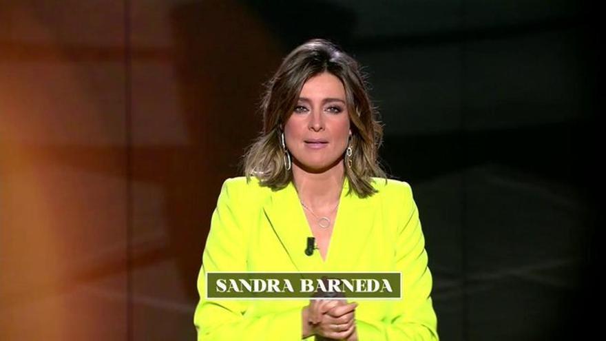 Sandra Barneda en 'El Debate de las tentaciones'