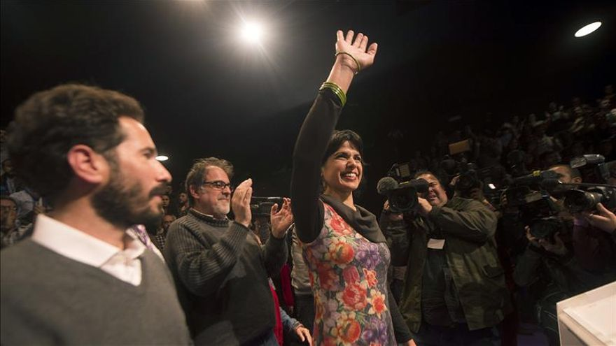 """Teresa Rodríguez dice que """"el cambio ha comenzado y continuará en Andalucía"""""""