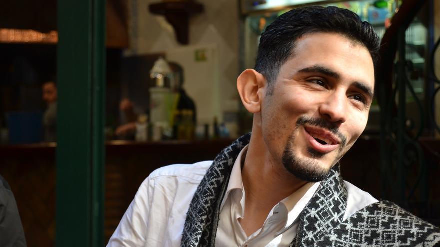 Ahmad, durante la entrevista | N.C.