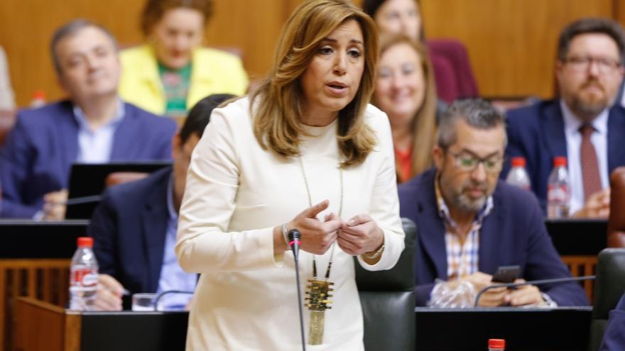 Susana Díaz estará en Albacete este sábado acompañada por el presidente de Castilla-La Mancha