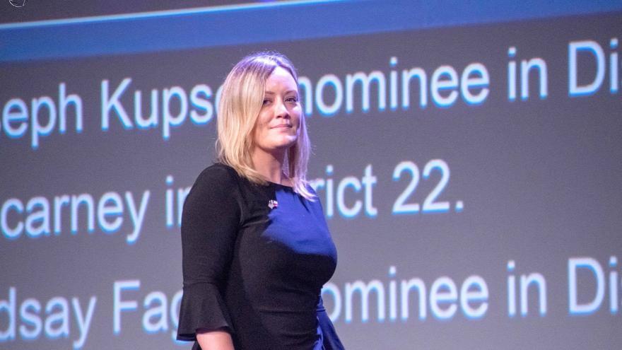 Linsey Fagan, candidata demócrata al Congreso por Texas.