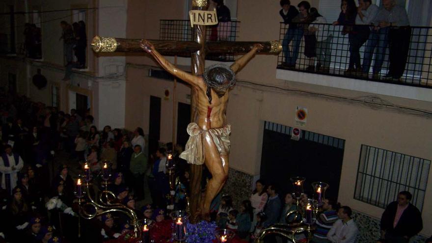 Santísimo Cristo del Perdón en las calles de Montilla | BENJAMÍN PORTERO