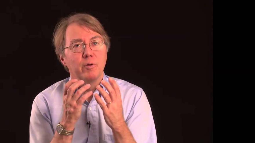 Andrew Knoll, biólogo experto en el origen de la vida y participante en el foro