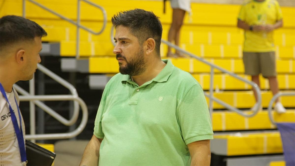Josan González durante el encuentro ante el Jaén.