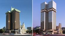 Las Torres de Colón dan otro estirón tras medio siglo de discordia