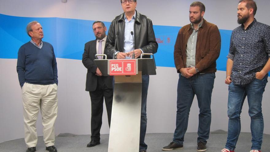 """Óscar López pide que se acabe """"la bronca"""" en el PSOE y recalca que Patxi López es quien """"mejor garantiza"""" la unión"""