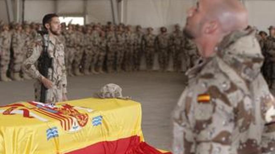 Funeral por el cabo fallecido en Afganistán