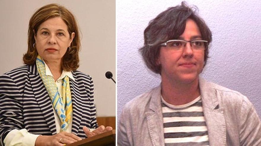 Pilar Blanco-Morales y Leire Iglesias