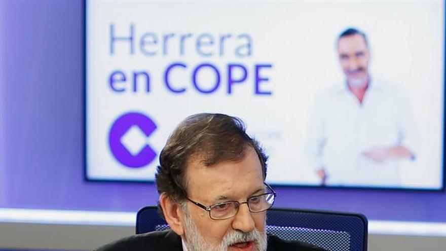 Rajoy prevé un crecimiento del 2,8 o 3 por ciento del PIB en 2018 si Cataluña se normaliza