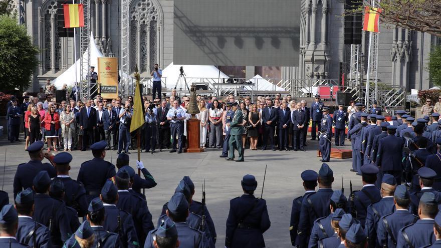 Jura de bandera civil en Arucas.