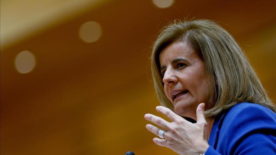 Báñez: el crecimiento de España se traduce íntegramente en crear empleo